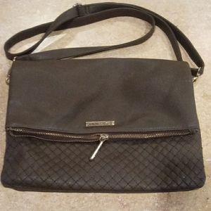 Rampage Brown quilted shoulder bag